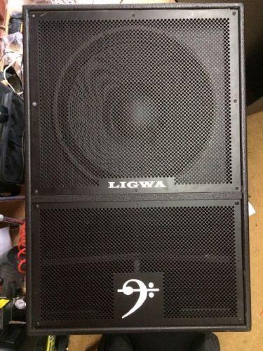 LIGWA MINI 1200W SCOOP BIN, SUB BASS BINS SPEAKER ... |Scoop Bass Bins