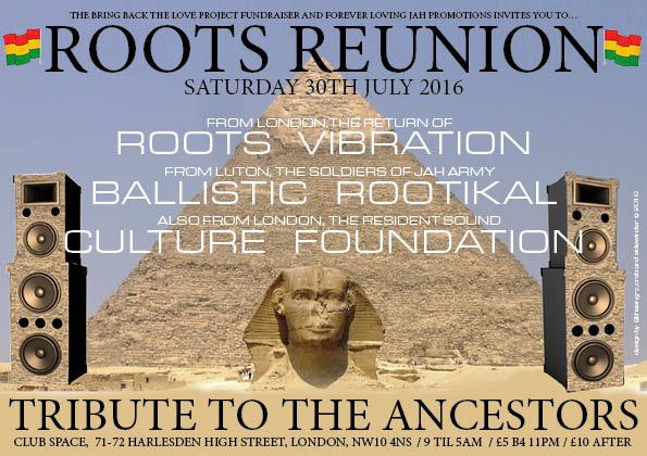 ROOTS REUNION 30-07-16 - Speakerplans com Forums