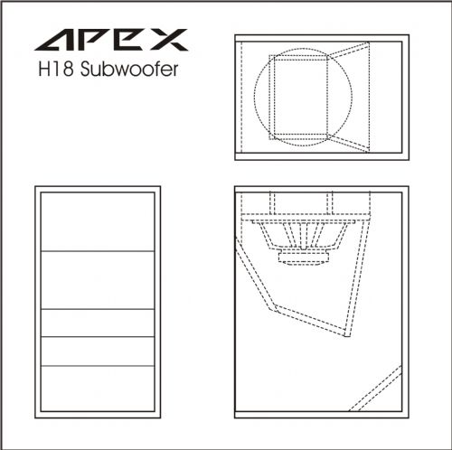 Test Bench Scan Speak 32w 4878t00 Subwoofer besides Subwoofer Filter And Low Pass Filter Circuit With Lm741 additionally 290914068873 further 3d Subwoofer Box Design additionally Kf737. on 3 sealed subwoofer box