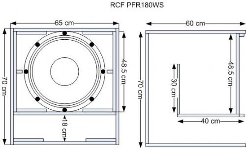 Best SPL acoustic box for FANE colossus 18XB - Speakerplans